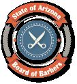 Arizona State Board of Barbers  Logo